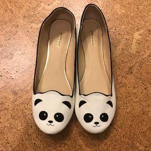 NWOT Panda Flats Size 10 🐼